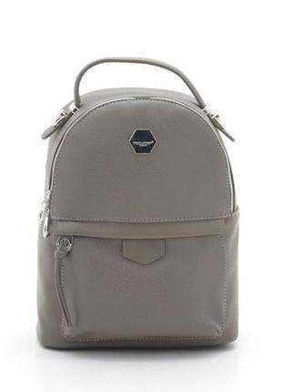 Рюкзак david jones cm3596 серо-коричневый