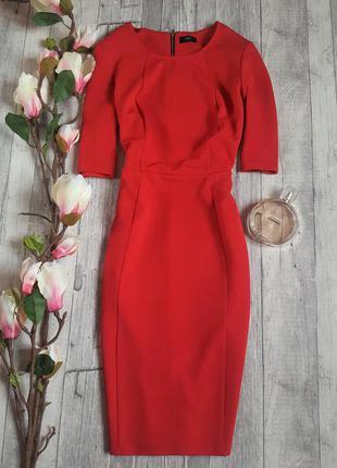 Шикарное яркое элегантное платье фирмы f&f