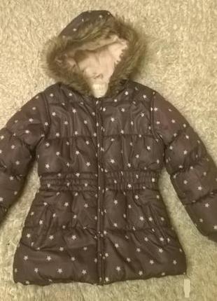 Демисезонная куртка для девочки kiabi