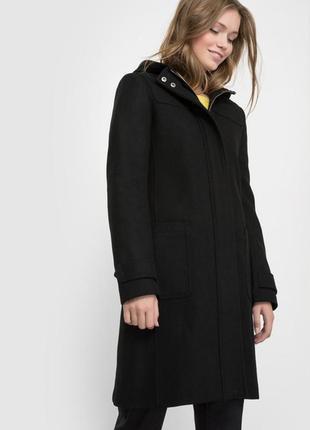 Пальто фирменное authentic на молнии .утеплено!