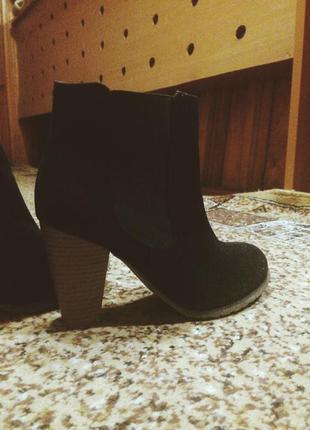 Ботинки, сапожки, средний каблук, 37 размер