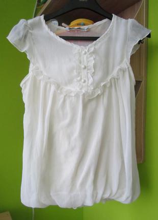 Легкая нарядная блуза new look