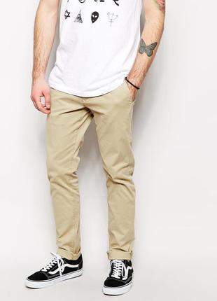 Трендовые актуальные штаны/брюки чиносы/ скини от бренда new yorker smog