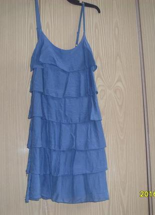 Летнее итальянское платье