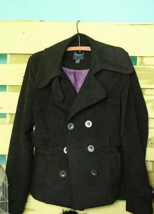 Элегантное укороченное пальто