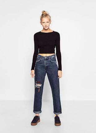 Mom джинсы zara оригинал размеры 34 и 36