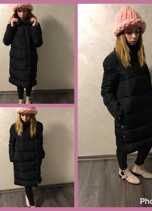 Теплое пальто бойфренд из парижа