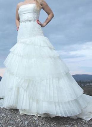 Свадебное платье vera wang оригинал!