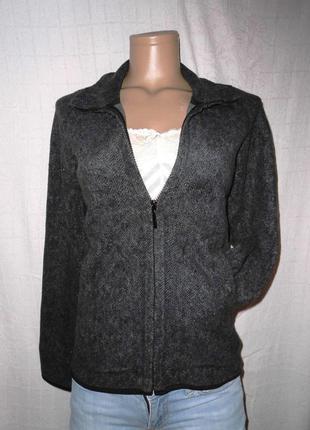 Серая флисовая куртка / курточка / кофта / флиска