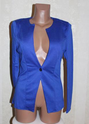 Классный синий пиджачок р. s... m. р.  распродажа.
