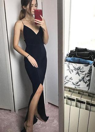 Идеальное вечернее платье в пол
