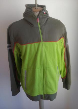 Мужчиний дві куртка осінь-весна салатовий,олива розмір-60-612 фото