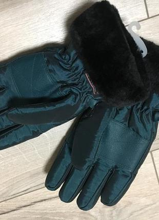 Перчатки лыжные термо thinsulate размер l на 11-14лет