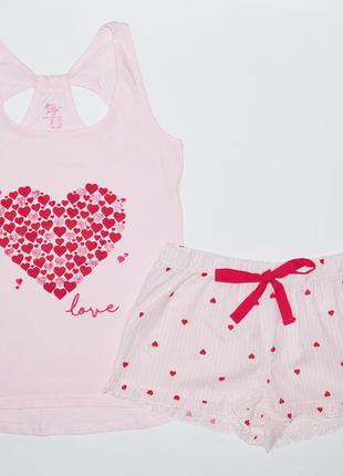 Женская пижама (майка+шорты), primark