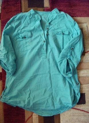 Рубашка мятная