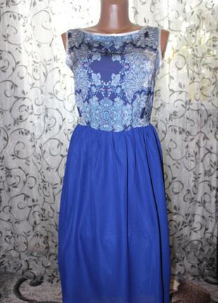 Красивое летнее платье р.м