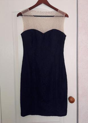 Очень красивое брендовое ажурное платье bodyform