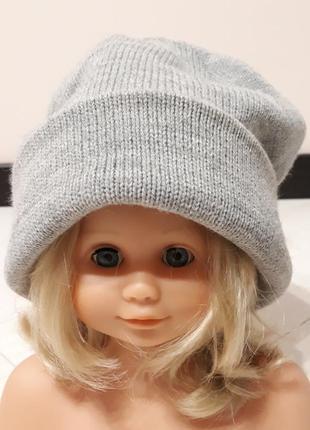Молодежная шапка бини