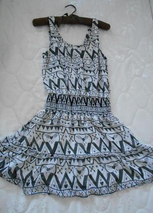 #шифоновое платье #h&m#