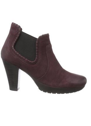 """38и40.5-41 """"marс"""",германия,натуральная кожа! стильные,лёгкие,комфортные ботинки ботильоны"""