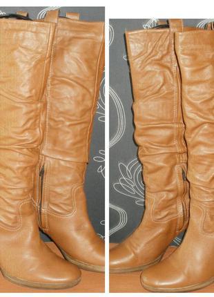 Сапоги кожаные. george 41 рр. стелька 27 см