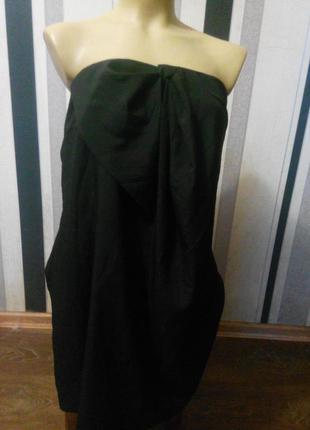 Платье бандо vero moda
