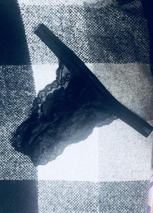 Стринги/ трусы кружевные ручной работы