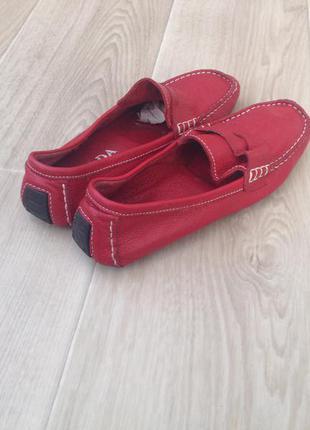 Лоферы женские туфли кожаные prada