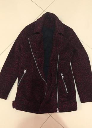 Пальто-косуха topshop  topshop