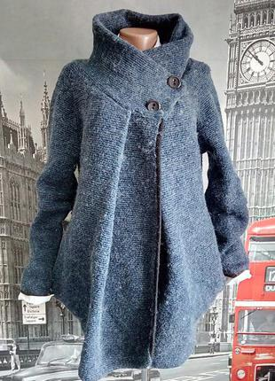 🇮🇹   італійський шерстяний кардиган, трикотажне пальто
