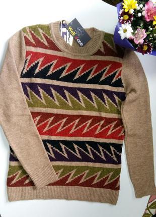 Яркая, теплая кофта, свитер, реглан3