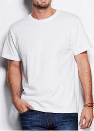 Біла чоловіча футболка steadman.бавовна. коттон.