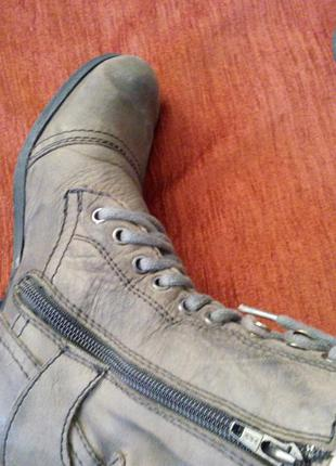 Демисезонные ботинки crafted