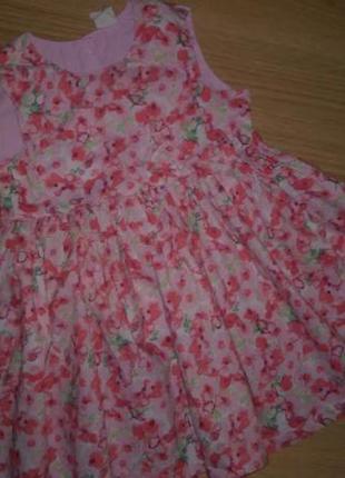 Платье h&m на рост 80 см.