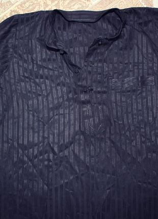 Удлиненная рубашка, блузка шелк