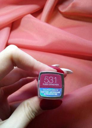 Помада maybelline color sensational 531