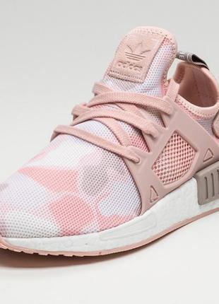 Классные пудровые кроссовки adidas nmd 36 37 38 39 40 рр
