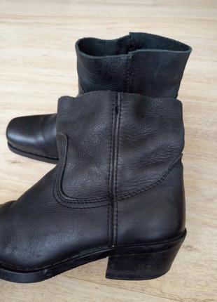 Кожа!италия ботинки 35-36р