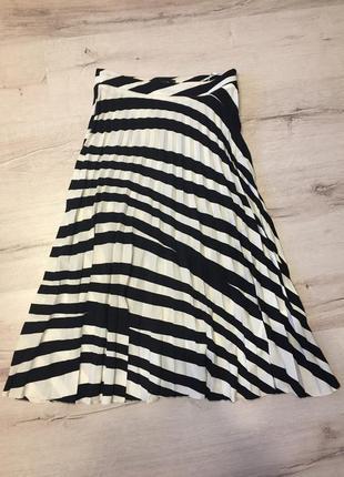Шикарная плиссированная юбка mohito