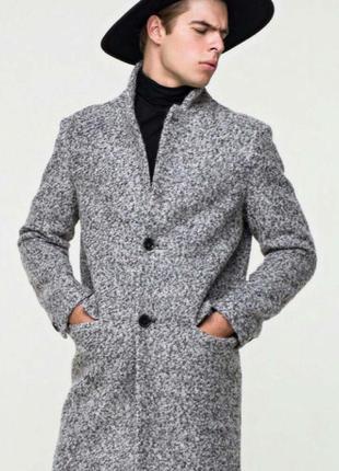 Строгое демисезонное пальто grislav