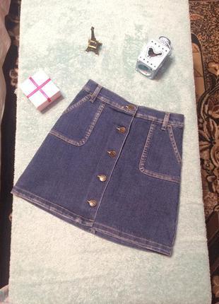 Юбка джинсовая gloria jeans