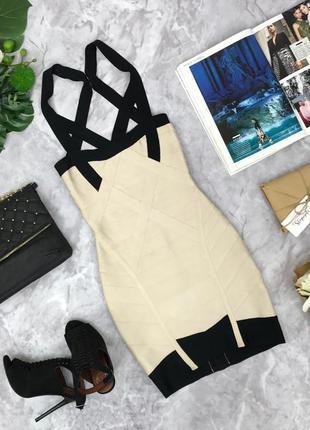 Бандажное, эффектное платье для супер-женщины.  dr180837  celebcityny