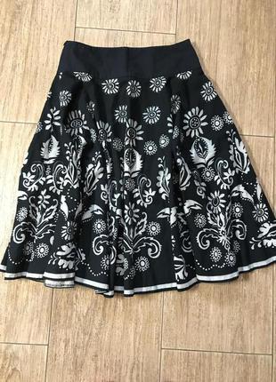Шикарная юбка миди  клёш