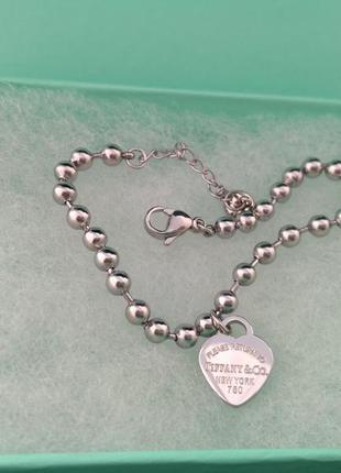 подвеска тиффани сердце на цепочке Tiffany Designs цена 490 грн