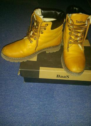 Ботинки зима timberland размер 37