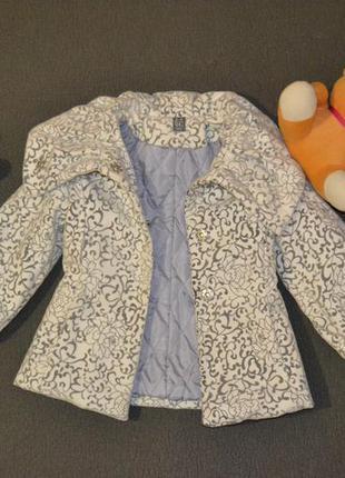 Очень стильное пальто для маленькой принцессы!