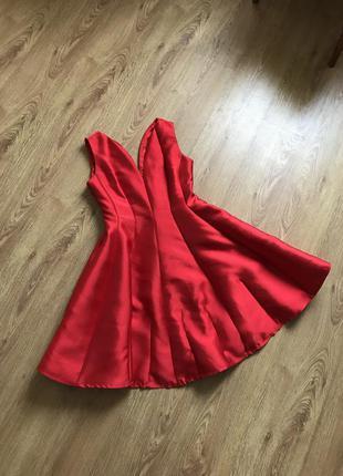Платье на выпускной, платье миди, бальное платье