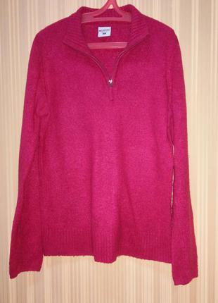 Ярко-розовый свитер columbia