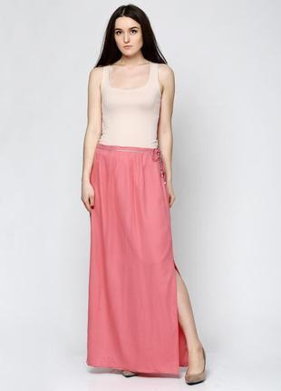 Шелковая юбка massimo dutti