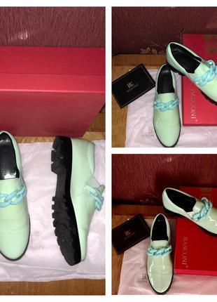 Стильные кожаные туфли basconi